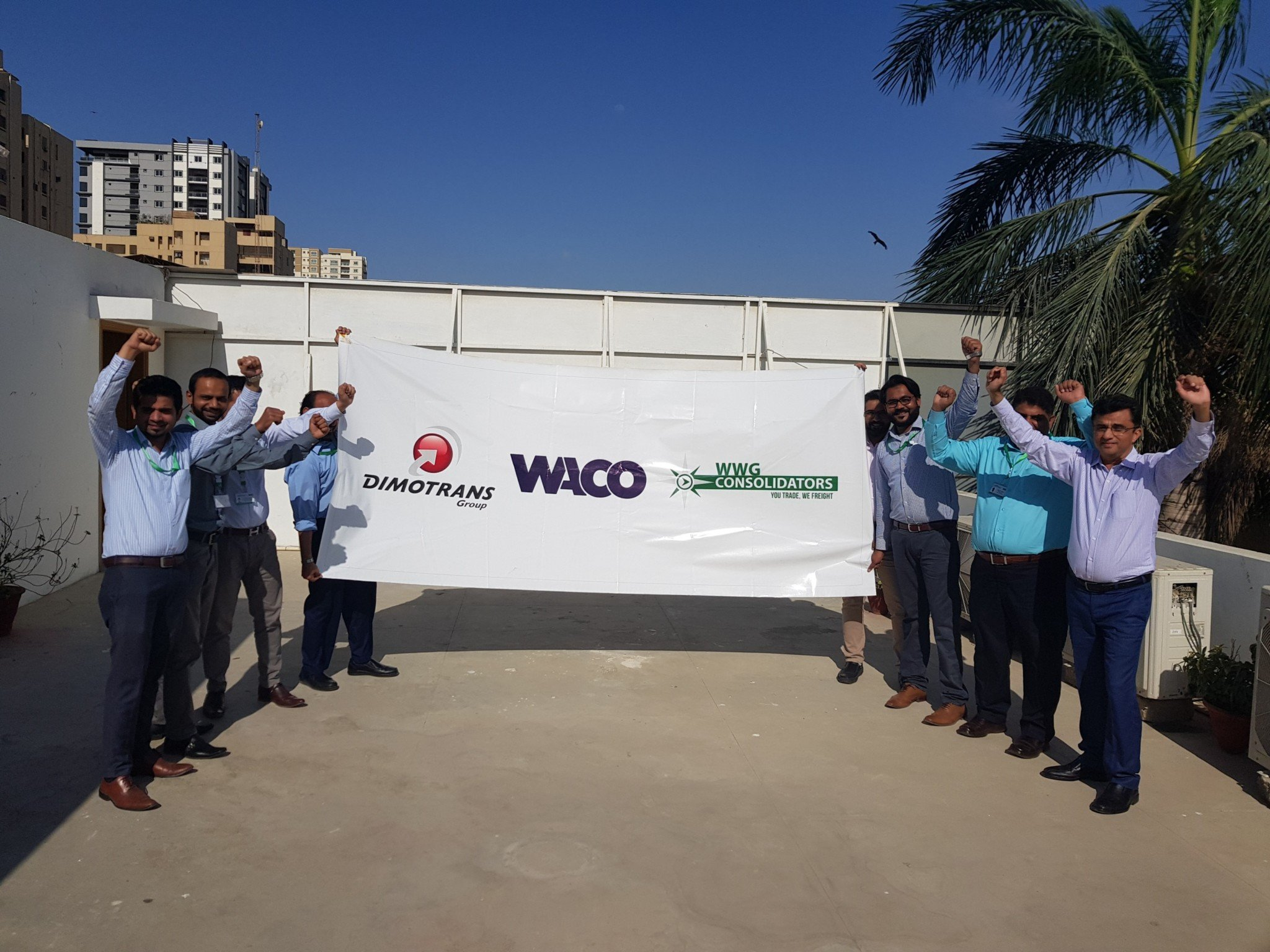 WACO Members Join Forces to Transport Replacement Jet Engines to Pakistan